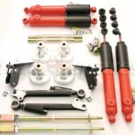 Hilo's, Negative camber kit, Shock absorbers and tie bars